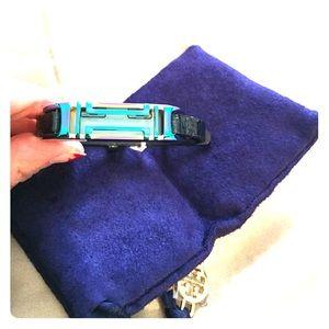 Tory Burch navy blue FitBit Flex 2 wrap. NWT